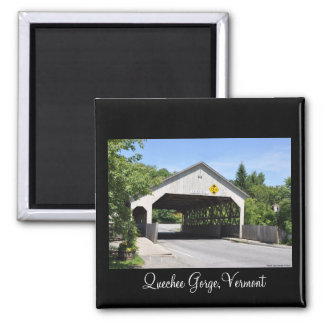 Covered bridge in Quechee Gorge,Vermont - Magnet