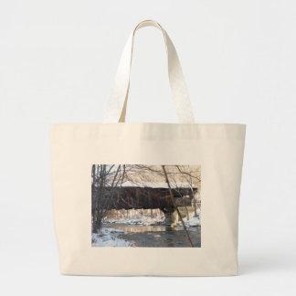 Covered Bridge Jumbo Tote Bag