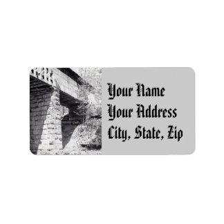 Covered Bridge Label
