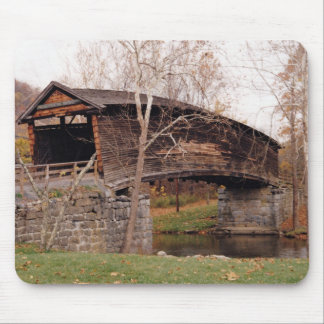 Covered Bridge Mouse Pad