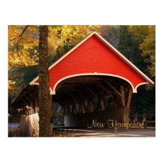 Covered Bridge,  New Hampshire Postcard