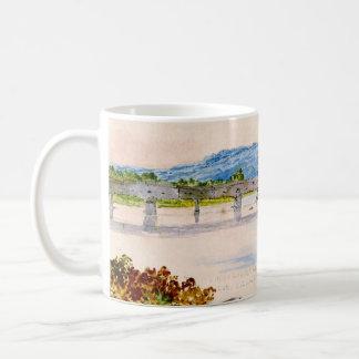 Covered Bridge New York 1846 Mug
