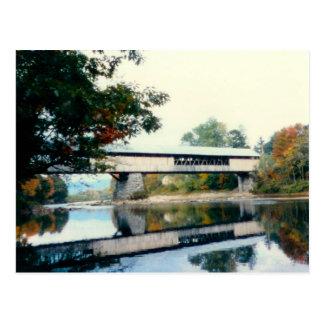 Covered Bridge NH Postcard