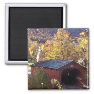 Covered Bridge on Common West Arlington Vermont Refrigerator Magnet