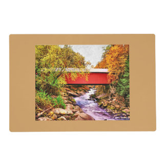 Covered Bridge Placemat