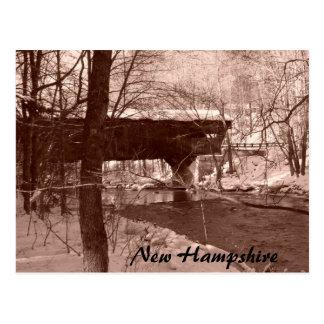 Covered Bridge (sepia) Postcards