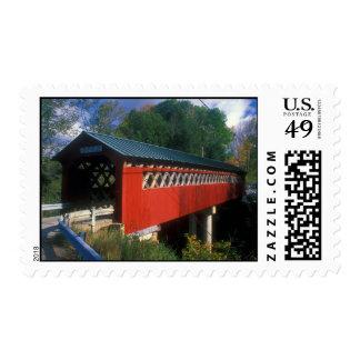 Covered Bridge Vermont Postage