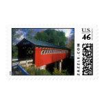Covered Bridge Vermont Postage Stamp