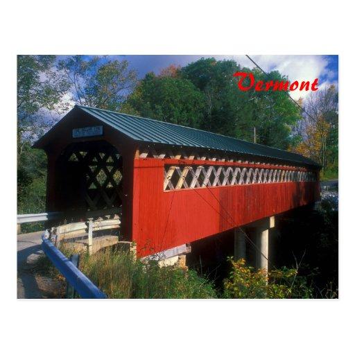 Covered Bridge Vermont Postcards