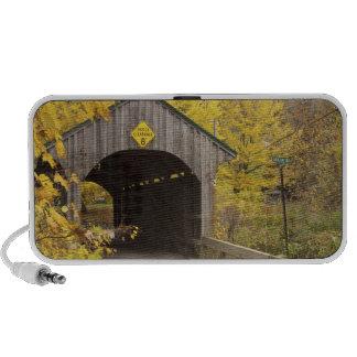 Covered bridge, Vermont, USA 2 Laptop Speakers