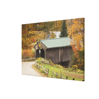 Covered bridge, Vermont, USA Stretched Canvas Prints