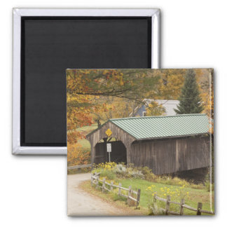 Covered bridge, Vermont, USA Magnet