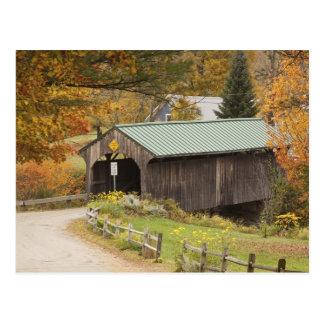Covered bridge, Vermont, USA Postcard