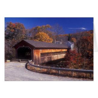 Covered Bridge Ware Gilbertville Massachusetts Card
