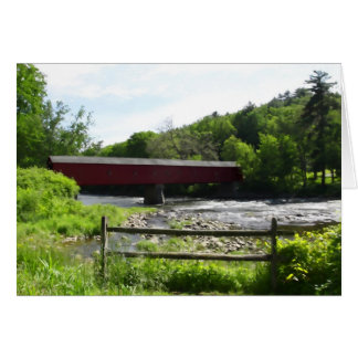 Covered Bridge West Cornwall, CT Card