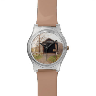 Covered Bridge Wrist Watch