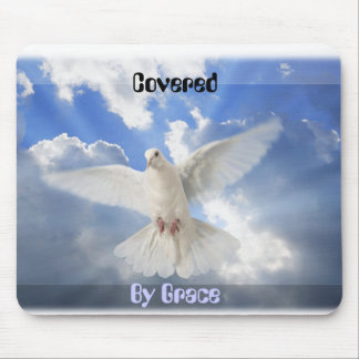 Covered by Grace Mousepad