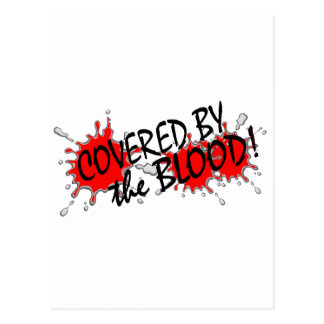 Covered by the Blood Postcard