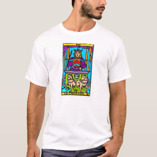 Covered cart, letter of taro T-Shirt