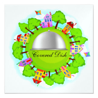 Covered Dish - Neighborhood Event - SRF Card