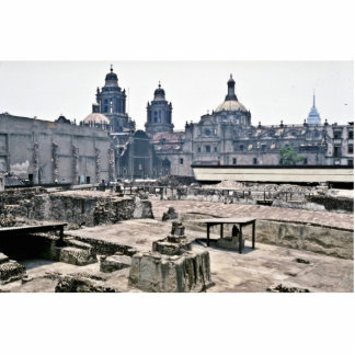 Covered Excavations Of Aztec Site, Mexico City Statuette