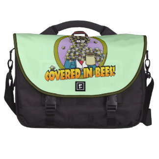Covered in Bees Bags For Laptop