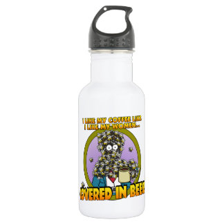 Covered in Bees Water Bottle