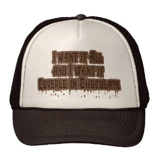 Covered in Chocolate Trucker Hat