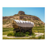 Covered Wagon at Scotts Bluff National Monument Post Cards