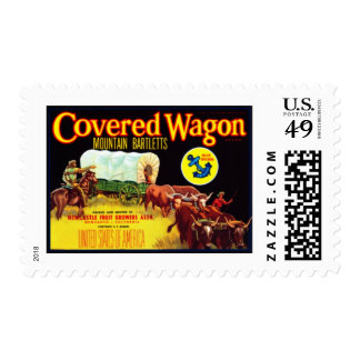 Covered Wagon Bartletts Stamp