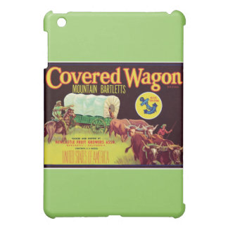 Covered Wagon Fruit Vintage Label Cover For The iPad Mini