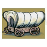 Covered Wagon Greeting Cards