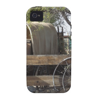 Covered Wagon iPhone 4 Case
