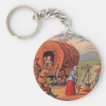 Covered Wagon Keychains