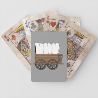 Covered Wagon - Western Bicycle Playing Cards