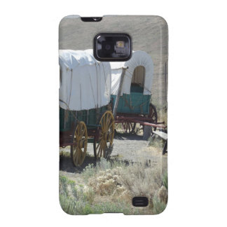 Covered Wagons Galaxy S2 Cover