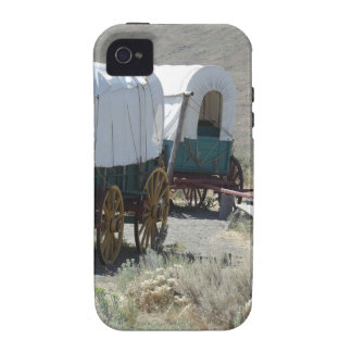 Covered Wagons iPhone 4/4S Case
