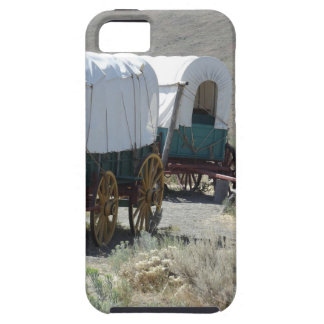 Covered Wagons iPhone 5 Case