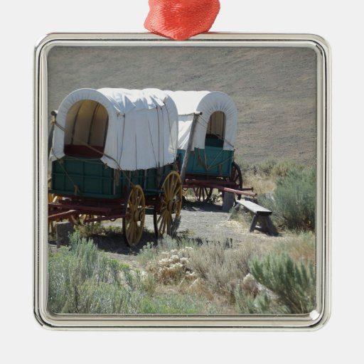 Covered Wagons Ornament