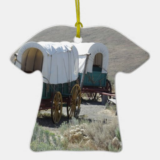 Covered Wagons Christmas Tree Ornament