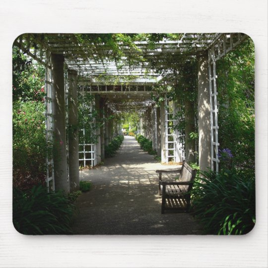 Covered Walkway Mouse Pad