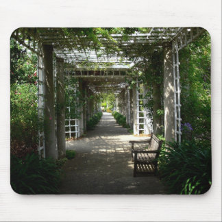 Covered Walkway Mouse Pads