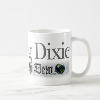 Covering Dixie Like the Dew Classic White Coffee Mug