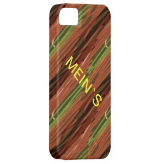 """Covering """"MINE ` S"""", text individually iPhone 5 Case"""