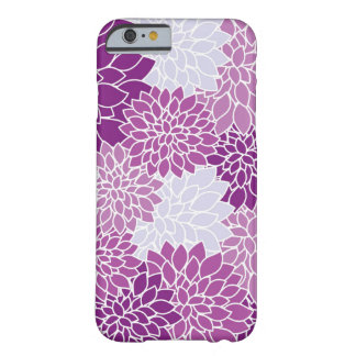Covering with pinkfarbenen flowers barely there iPhone 6 case