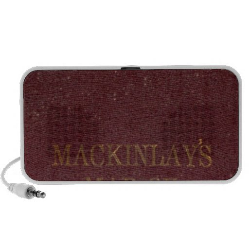 Covers to Mackinlay's map Notebook Speaker