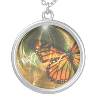 Coversation With God Round Pendant Necklace