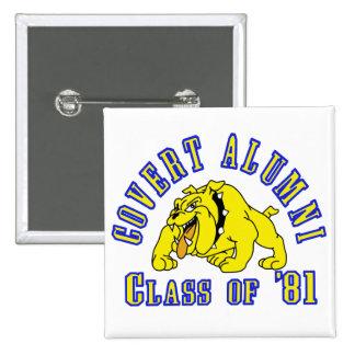 COVERT ALUMNI Class of '81 Button