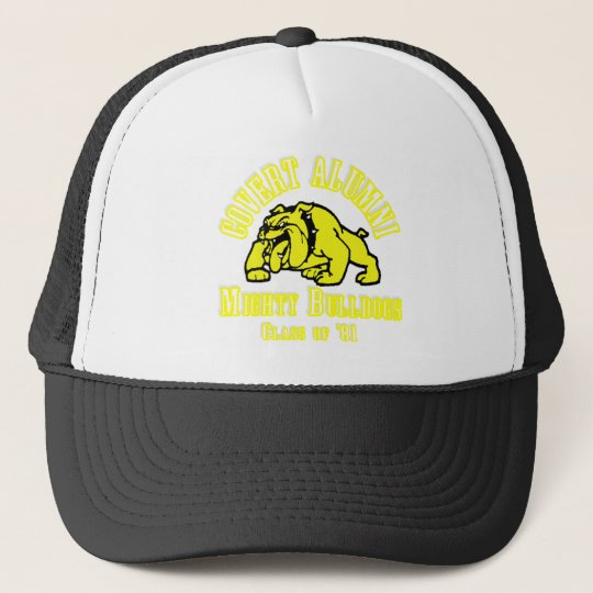 Covert Alumni Mighty Bulldogs T Shirt-Class of '81 Trucker Hat