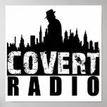 Covert Radio Poster